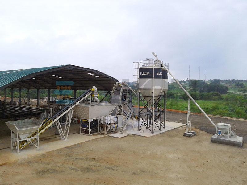 Компактный бетонный завод ELKOMIX-135 Quick Master (скиповая подача) (фото 8)