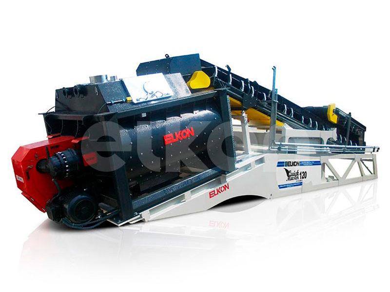 Компактный бетонный завод ELKOMIX-120 Quick Master (скиповая подача) (фото 7)