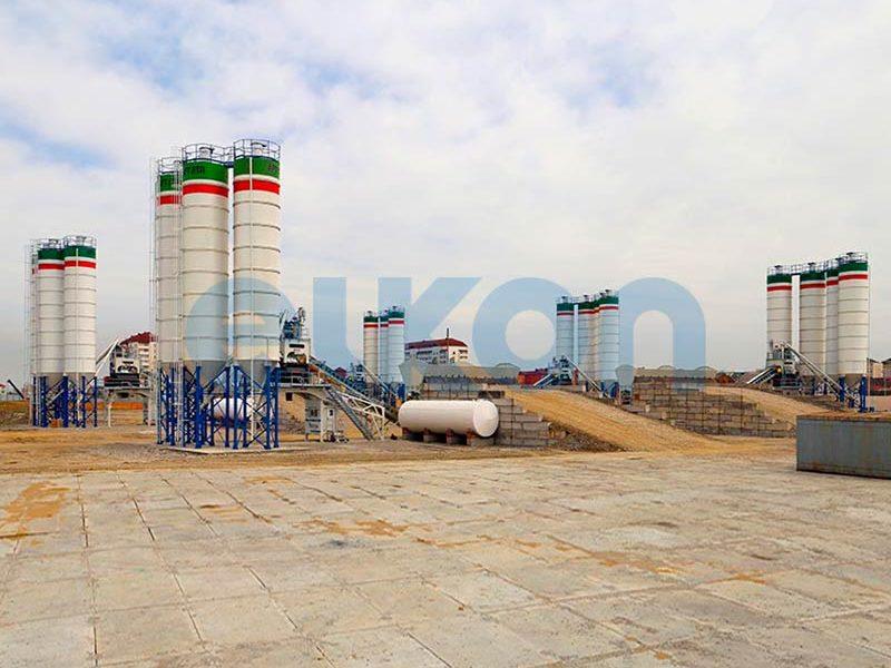 Компактный бетонный завод ELKOMIX-135 Quick Master (конвейерная подача) (фото 1)