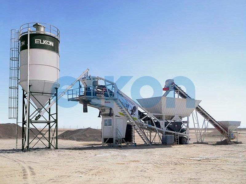 Мобильный бетонный завод ELKON MOBILE MASTER-30 Eagle (фото 4)