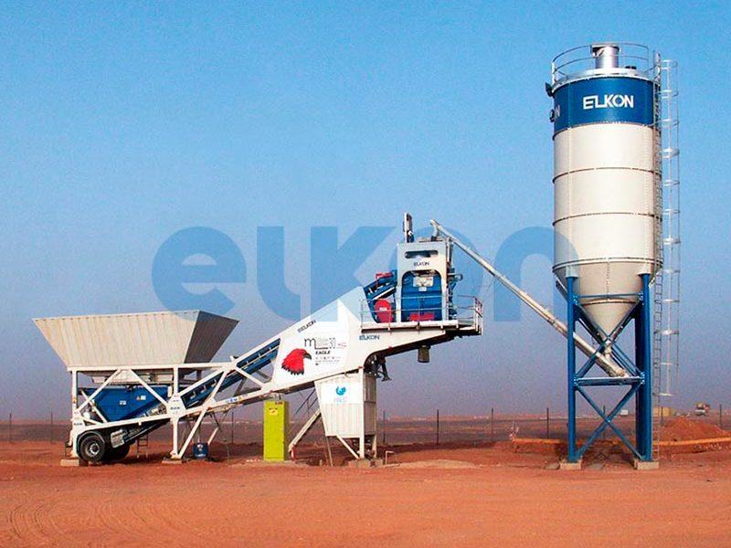 Мобильный бетонный завод ELKON MOBILE MASTER-30 Eagle (фото 6)