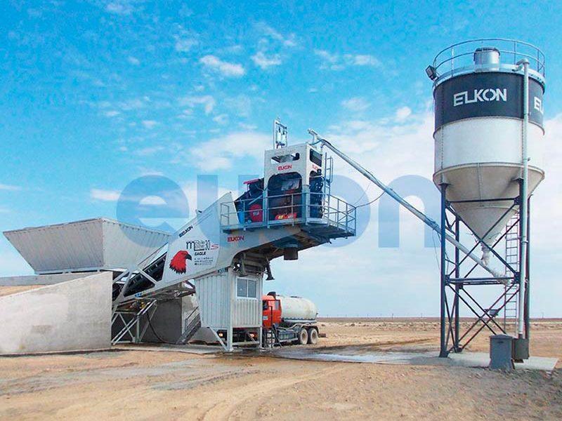 Мобильный бетонный завод ELKON MOBILE MASTER-30 Eagle (фото 7)