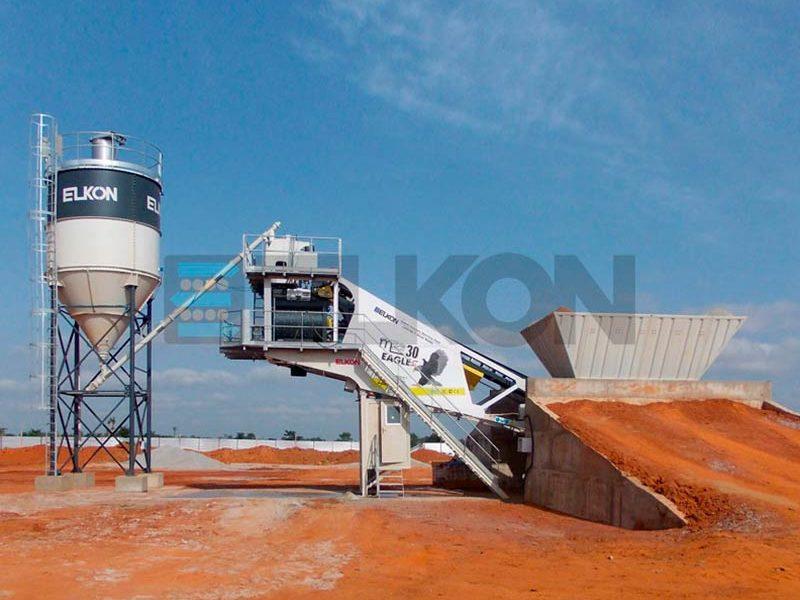 Мобильный бетонный завод ELKON MOBILE MASTER-30 Eagle (фото 9)