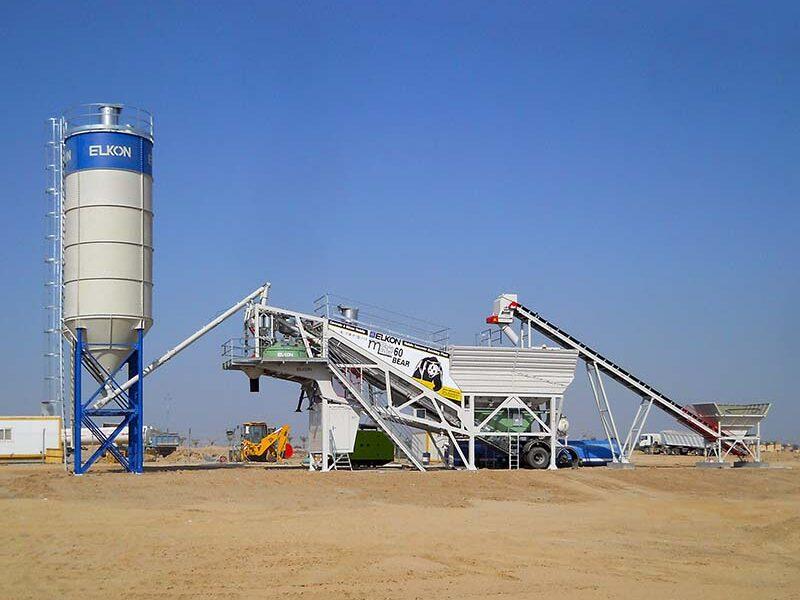 Мобильный бетонный завод ELKON MOBILE MASTER-60 Bear (фото 1)