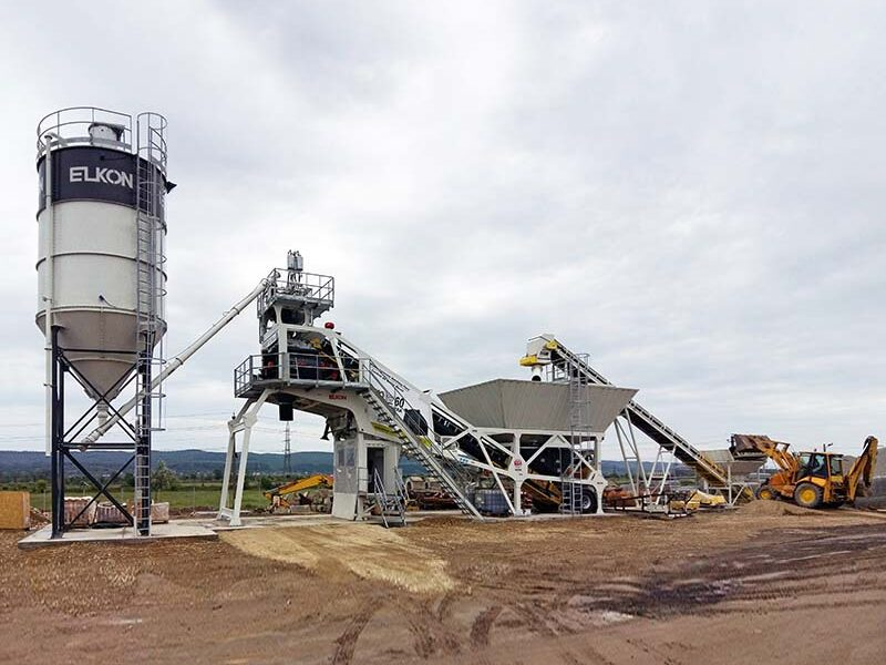 Мобильный бетонный завод ELKON MOBILE MASTER-60 Panthera (фото 1)
