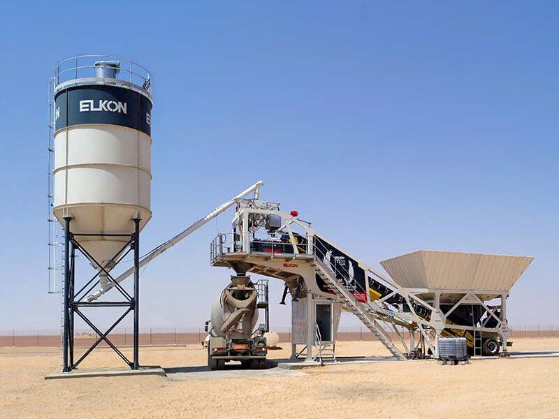 Мобильный бетонный завод ELKON MOBILE MASTER-60 Pegasus (фото 1)