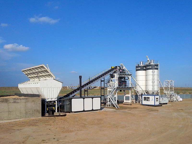 Стационарный бетонный завод ELKOMIX-120 (фото 1)