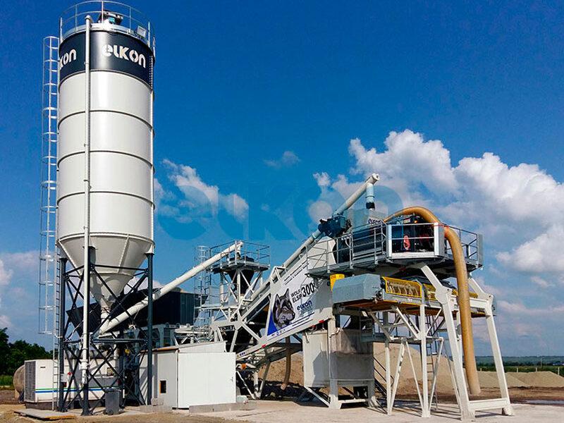 Грунтосмесительные заводы ELKON STABILISATION PLANT 300 (фото 2)