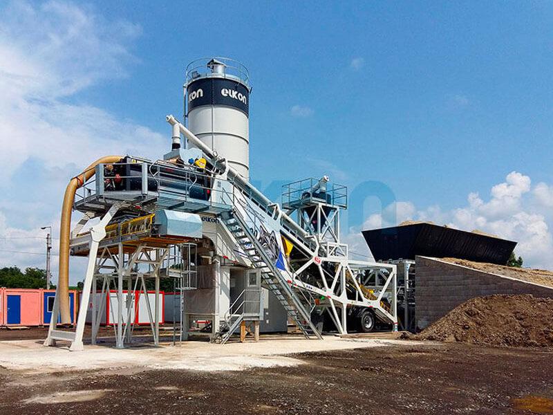 Грунтосмесительные заводы ELKON STABILISATION PLANT 300 (фото 3)