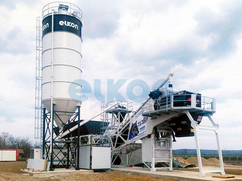 Грунтосмесительные заводы ELKON STABILISATION PLANT 300 (фото 4)