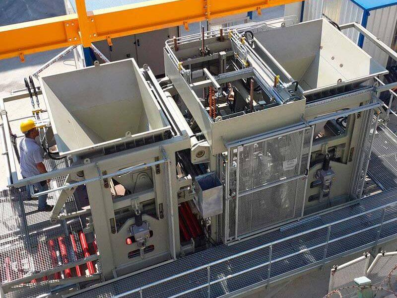 Многорядный вибропресс ELKOBLOCK-36M (фото 8)