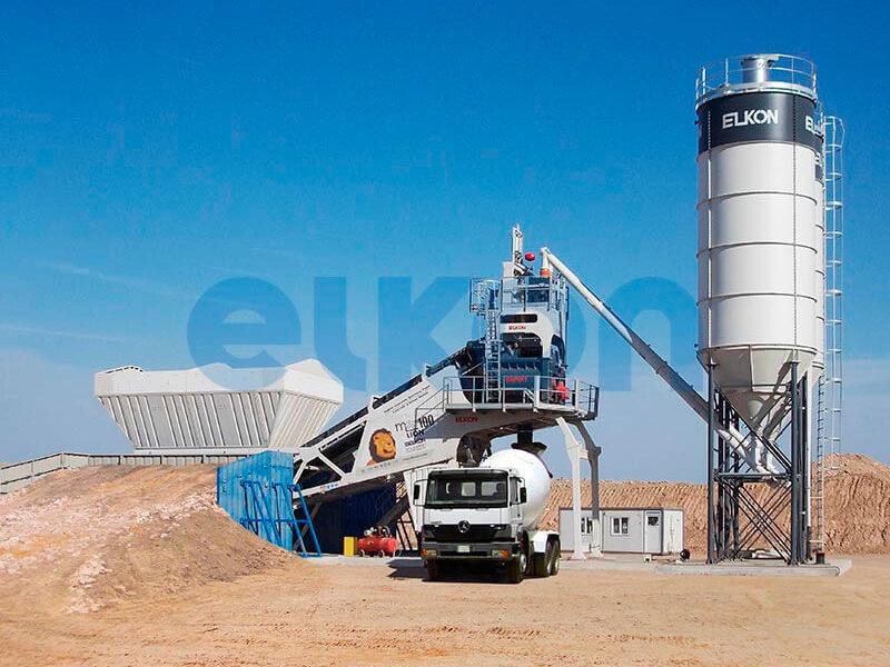 Мобильный бетонный завод ELKON MOBILE MASTER-100 Lion (фото 10)