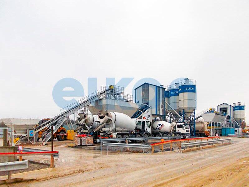 Мобильный бетонный завод ELKON MOBILE MASTER-100 Lion (фото 11)