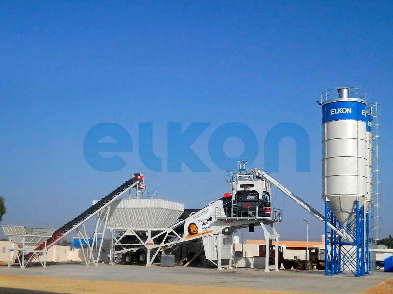 Мобильный бетонный завод ELKON MOBILE MASTER-100 Lion (фото 12)