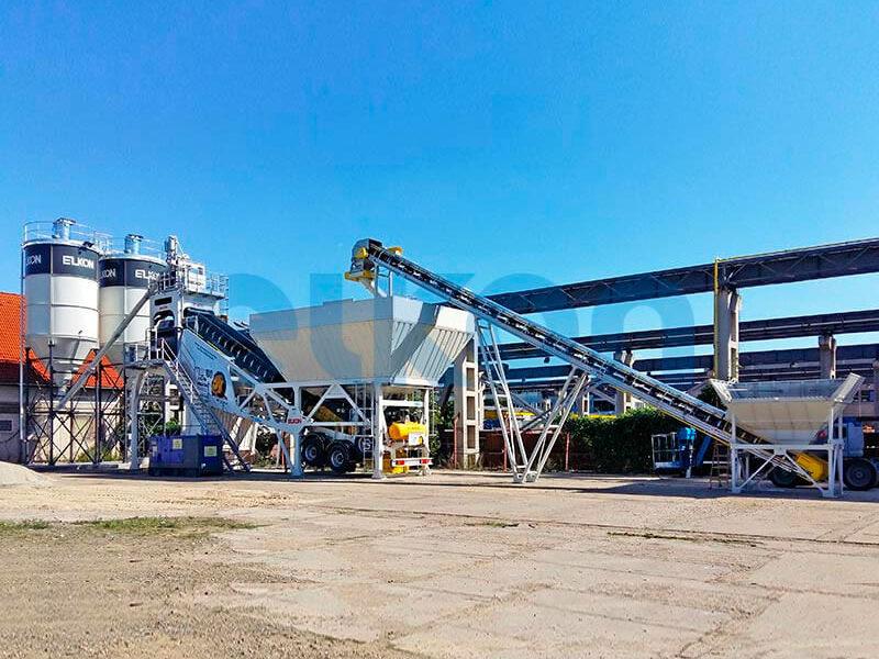 Мобильный бетонный завод ELKON MOBILE MASTER-100 Lion (фото 5)