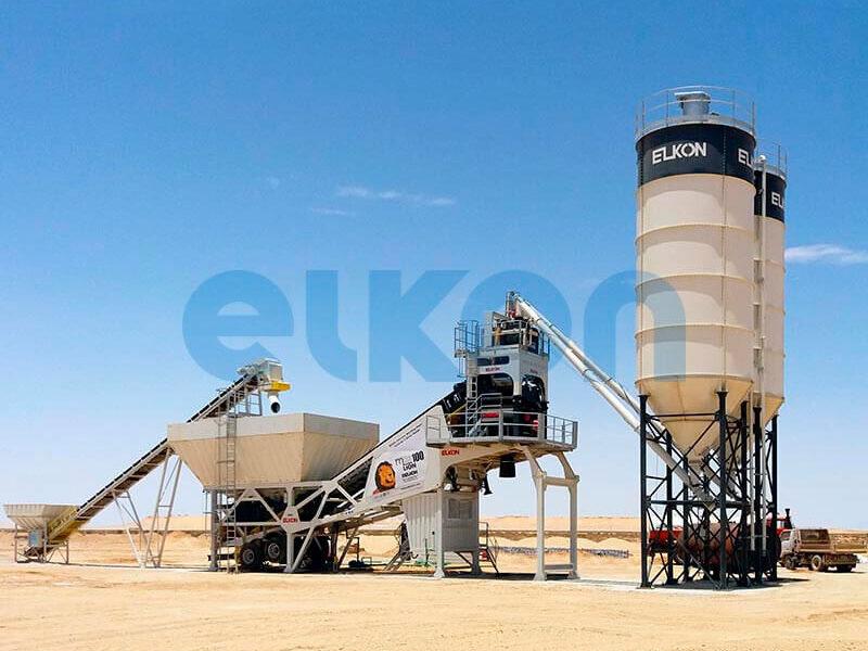 Мобильный бетонный завод ELKON MOBILE MASTER-100 Lion (фото 9)