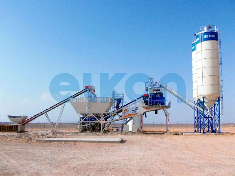 Мобильный бетонный завод ELKON MOBILE MASTER-135 Jaguar (фото 10)