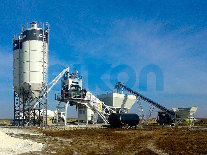 Мобильный бетонный завод ELKON MOBILE MASTER-135 Jaguar (фото 13)