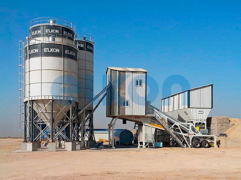 Мобильный бетонный завод ELKON MOBILE MASTER-135 Jaguar (фото 16)