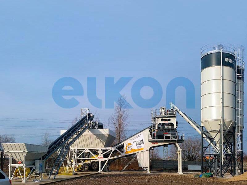 Мобильный бетонный завод ELKON MOBILE MASTER-135 Jaguar (фото 3)