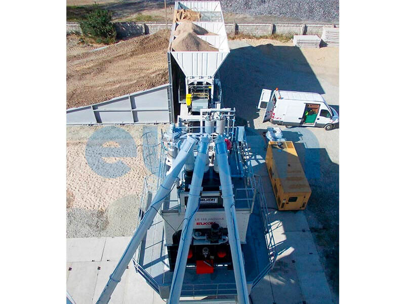 Мобильный бетонный завод ELKON MOBILE MASTER-135 Jaguar (фото 4)