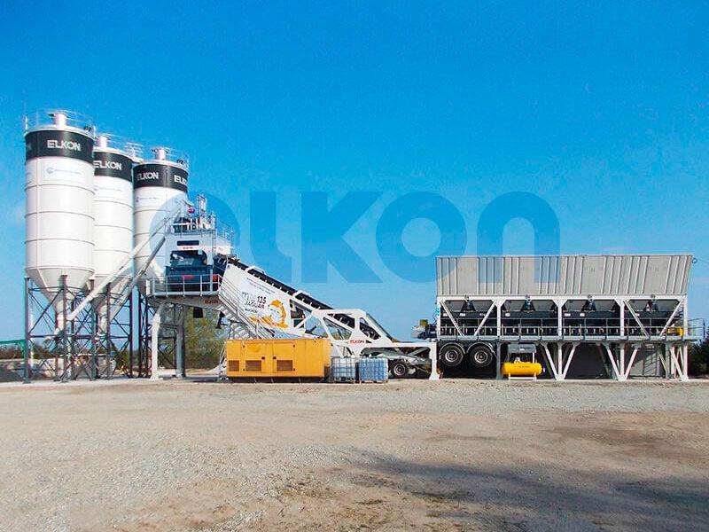 Мобильный бетонный завод ELKON MOBILE MASTER-135 Jaguar (фото 5)