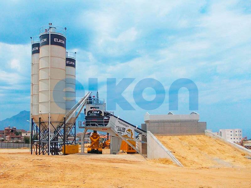 Мобильный бетонный завод ELKON MOBILE MASTER-135 Jaguar (фото 7)