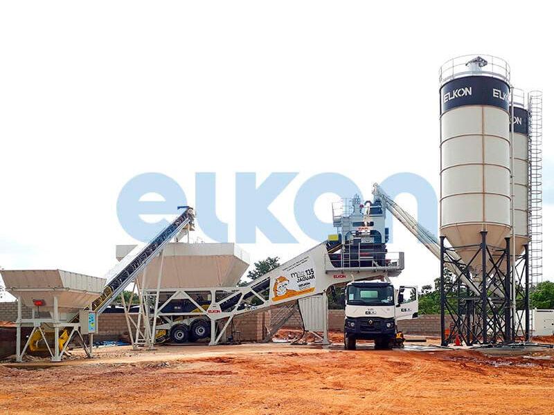 Мобильный бетонный завод ELKON MOBILE MASTER-135 Jaguar (фото 9)