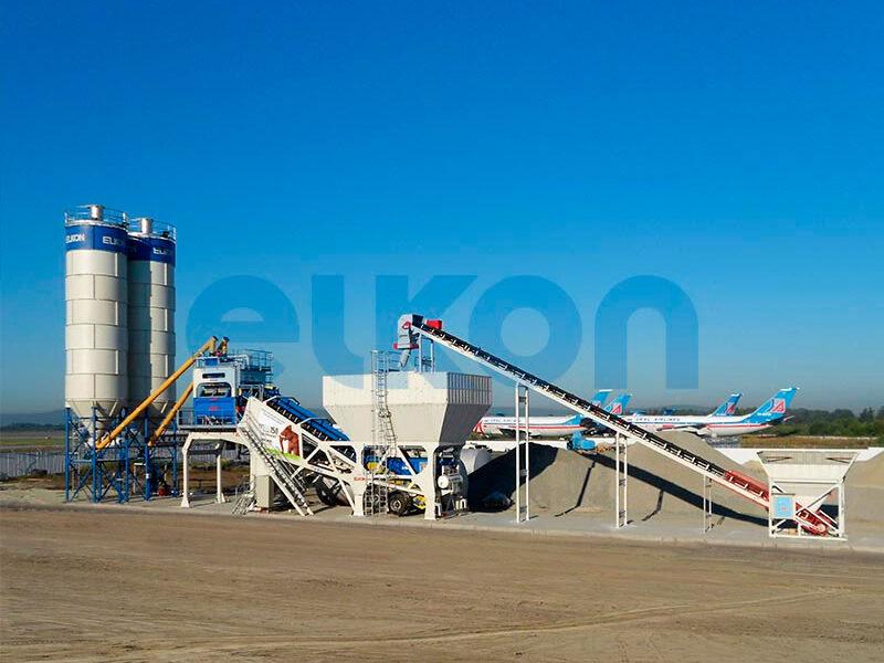 Мобильный бетонный завод ELKON MOBILE MASTER-150 Elephant (фото 11)