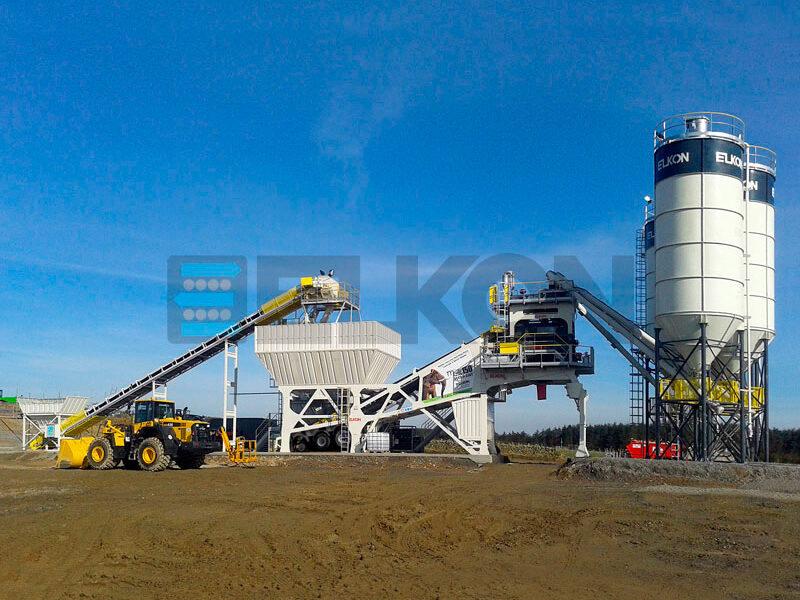 Мобильный бетонный завод ELKON MOBILE MASTER-150 Elephant (фото 14)