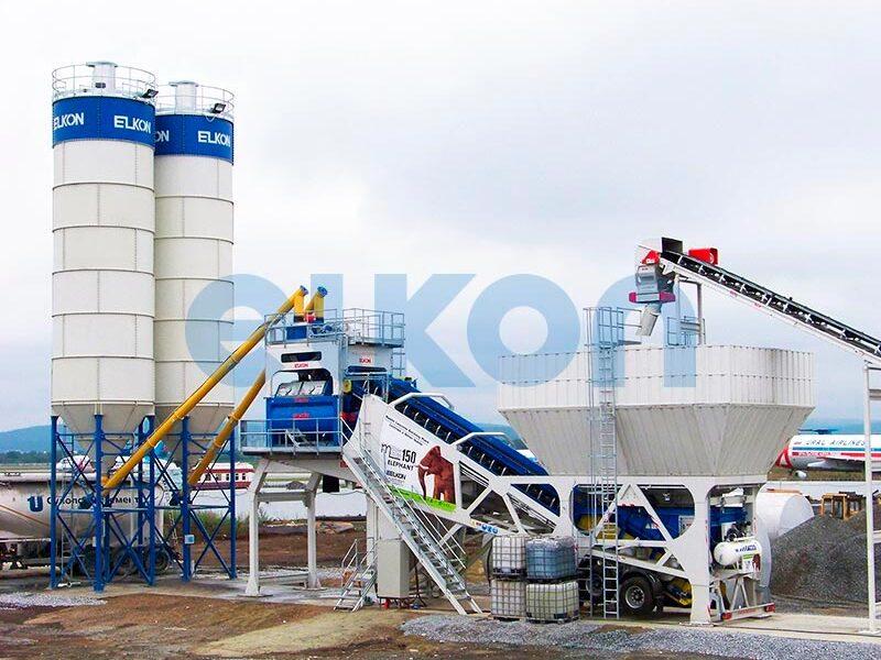 Мобильный бетонный завод ELKON MOBILE MASTER-150 Elephant (фото 3)