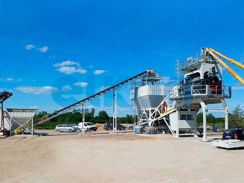 Мобильный бетонный завод ELKON MOBILE MASTER-150 Elephant (фото 5)