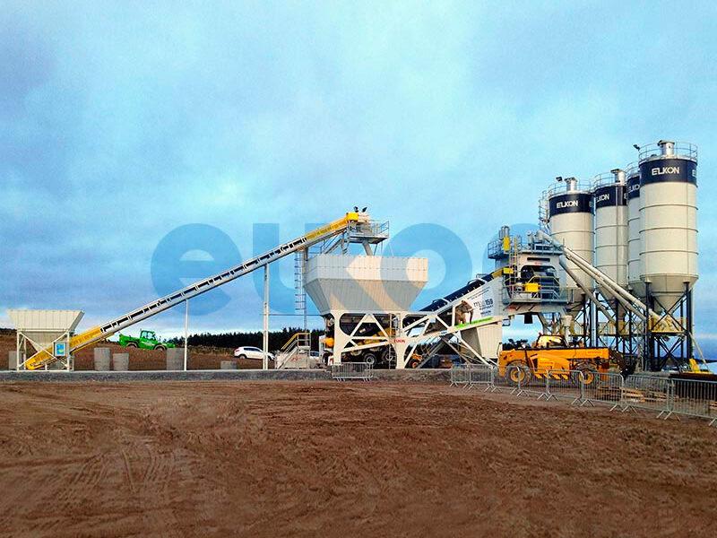 Мобильный бетонный завод ELKON MOBILE MASTER-150 Elephant (фото 6)