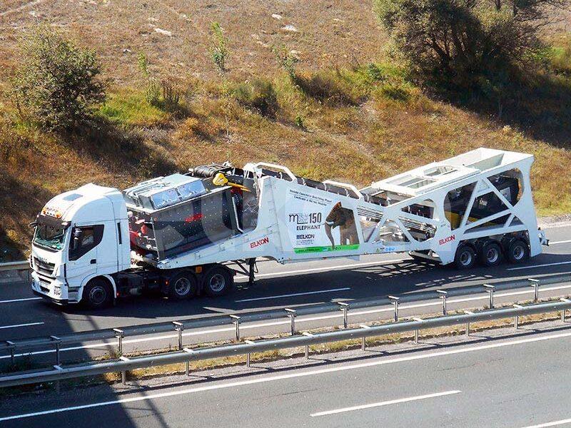 Мобильный бетонный завод ELKON MOBILE MASTER-150 Elephant (фото 8)