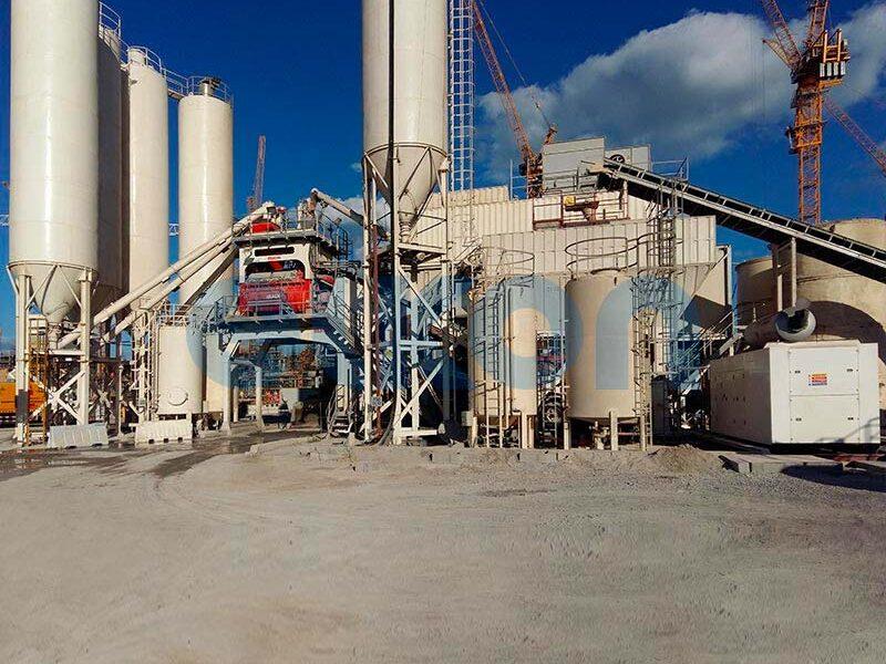 Мобильный бетонный завод ELKON MOBILE MASTER-150 Elephant (фото 9)