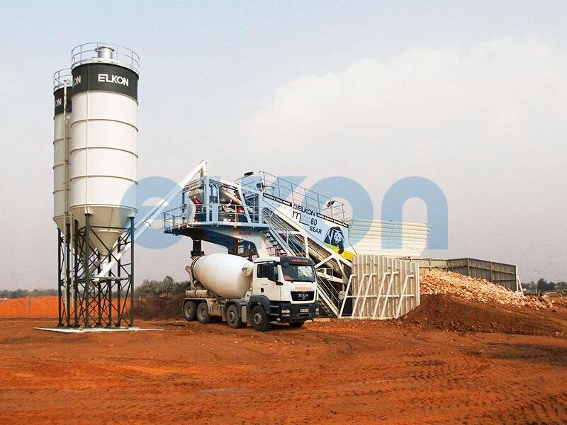 Мобильный бетонный завод ELKON MOBILE MASTER-60 Bear (фото 3