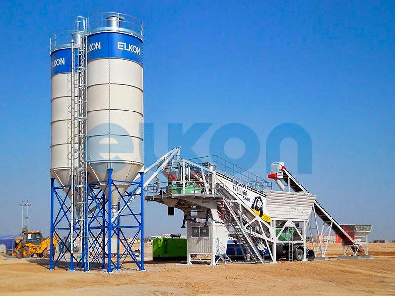 Мобильный бетонный завод ELKON MOBILE MASTER-60 Bear (фото 4)