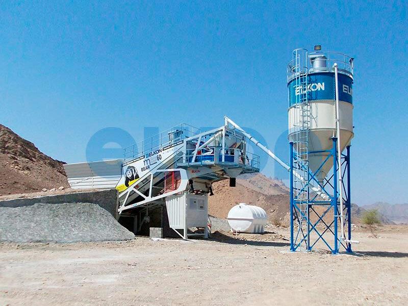 Мобильный бетонный завод ELKON MOBILE MASTER-60 Bear (фото 5)