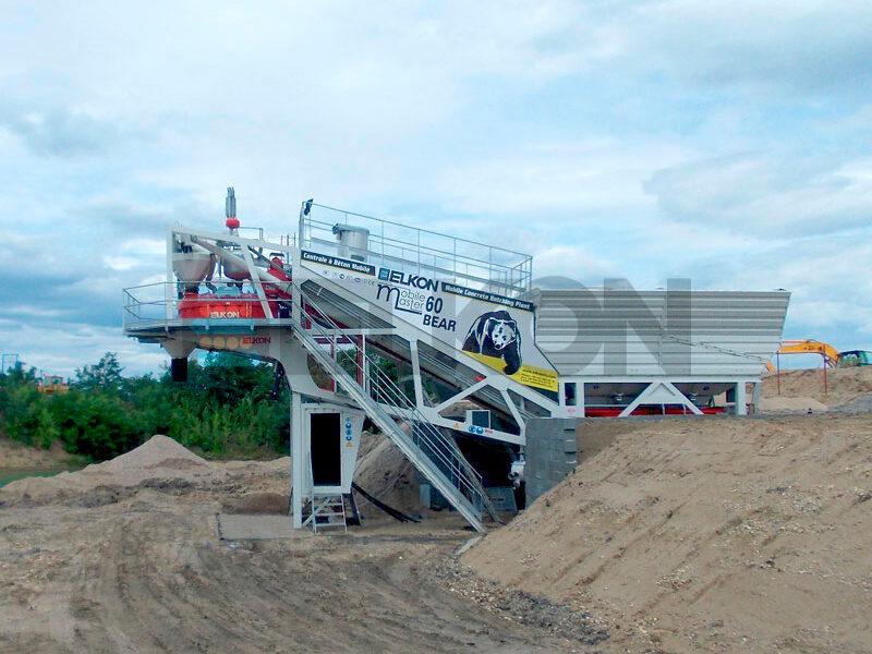 Мобильный бетонный завод ELKON MOBILE MASTER-60 Bear (фото 8)