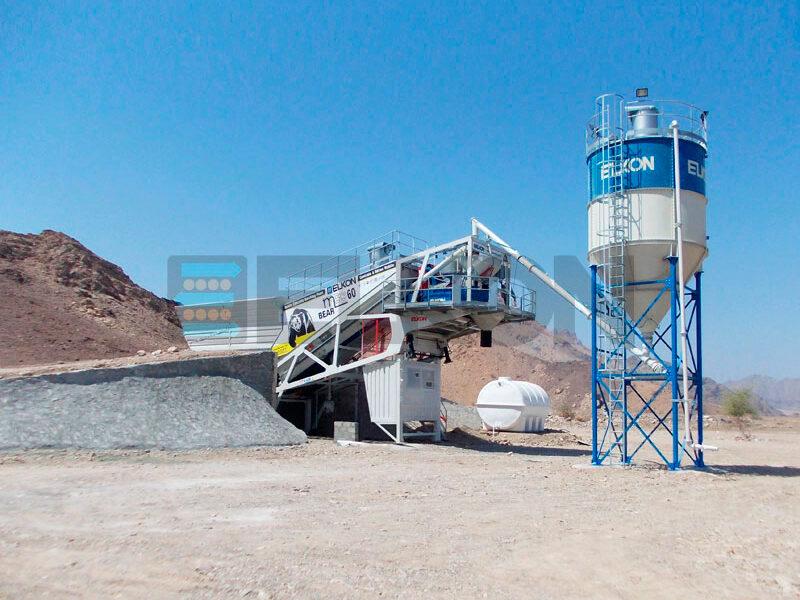Мобильный бетонный завод ELKON MOBILE MASTER-60 Bear (фото 9)