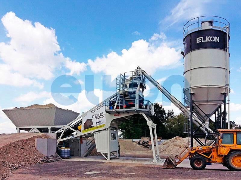 Мобильный бетонный завод ELKON MOBILE MASTER-60 Panthera (фото 2)