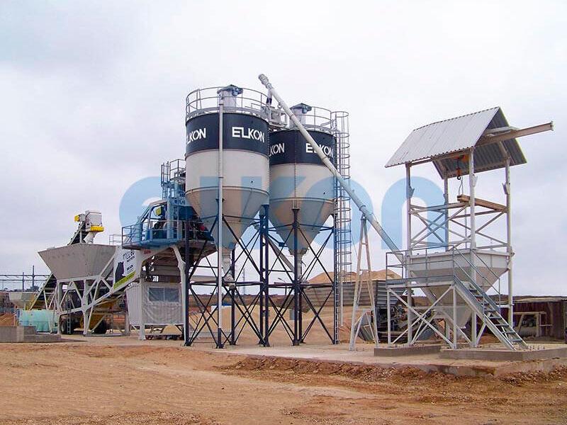 Мобильный бетонный завод ELKON MOBILE MASTER-60 Panthera (фото 3)