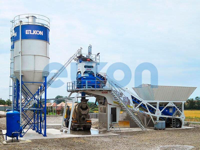 Мобильный бетонный завод ELKON MOBILE MASTER-60 Panthera (фото 5)