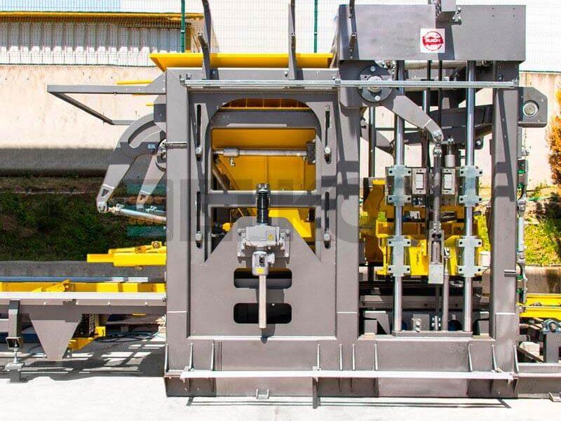 Однорядный вибропресс ELKOBLOCK-36S (фото 5)