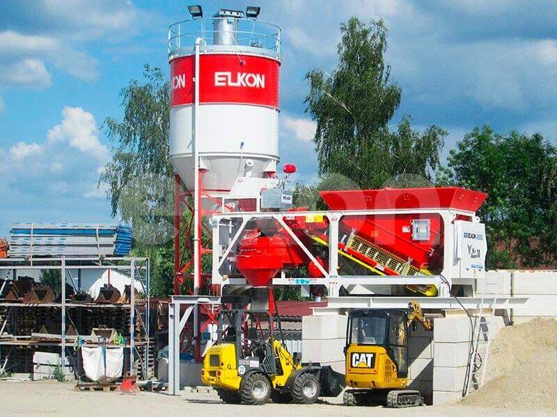 Приобъектный бетонный завод ELKON MIX MASTER-30 (фото 10)
