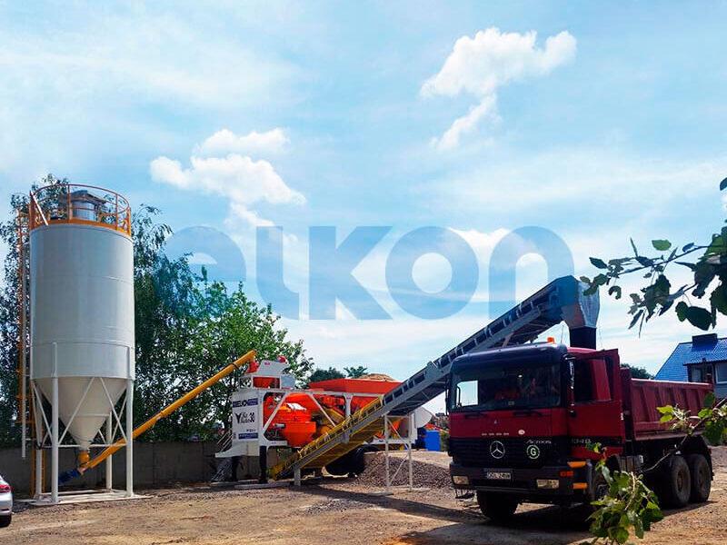 Приобъектный бетонный завод ELKON MIX MASTER-30 (фото 13)