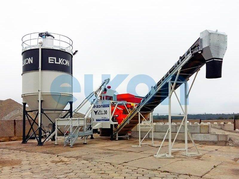 Приобъектный бетонный завод ELKON MIX MASTER-30 (фото 5)