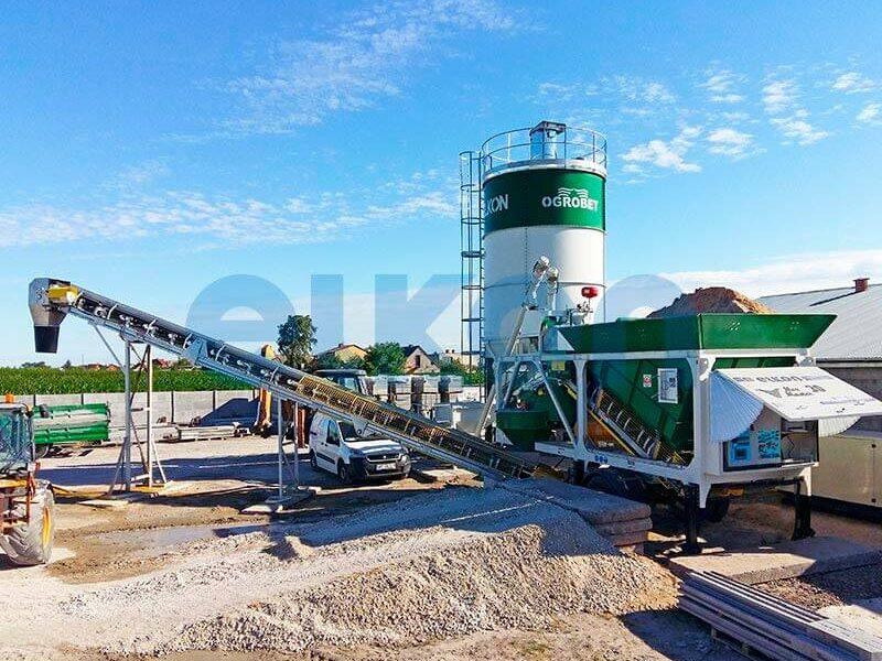Приобъектный бетонный завод ELKON MIX MASTER-30 (фото 6)