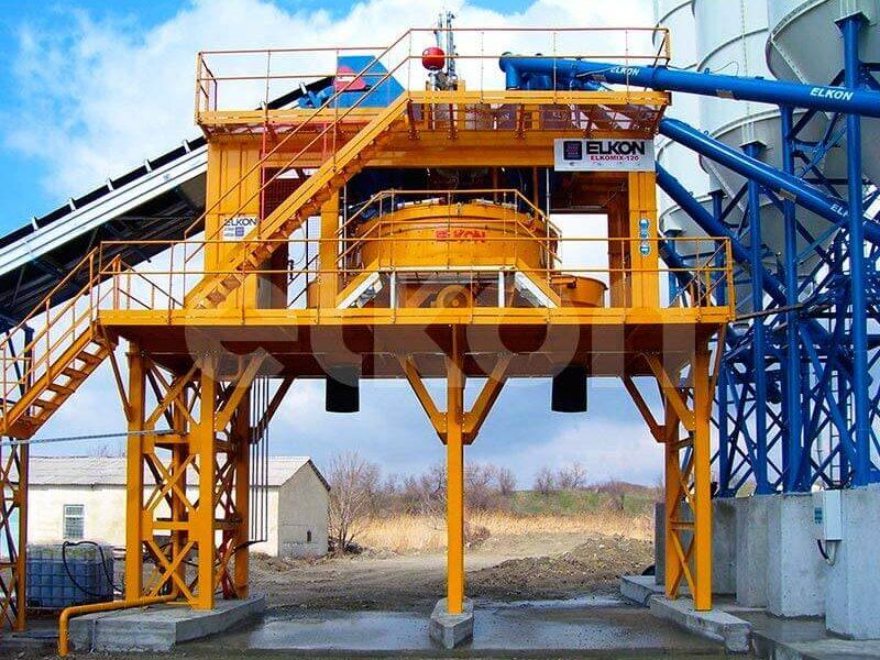 Стационарный бетонный завод ELKOMIX-120 (фото 10)