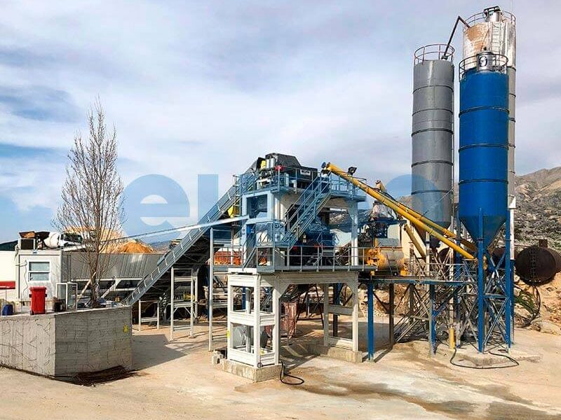 Стационарный бетонный завод ELKOMIX-120 (фото 11)